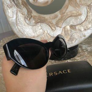 Versace 54MM butterfly sunglasses
